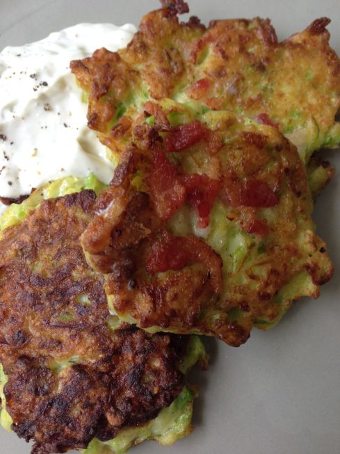 This recipe can easily be used for many vegetables and fruits. Try substituting zucchini for broccoli ,cauliflower, or potatoes.  For fruit fritters use apples, or pears.