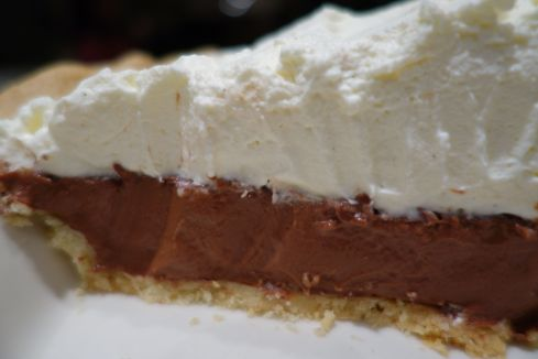 This pie is equally delicious on a short crust, a chocolate cookie crust , or a graham cracker crust, it's your choice !
