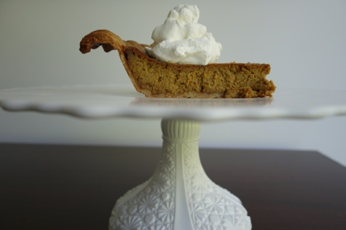 "This is my ""new"" pumpkin pie. The filling is lower in carbs and higher in taste!"