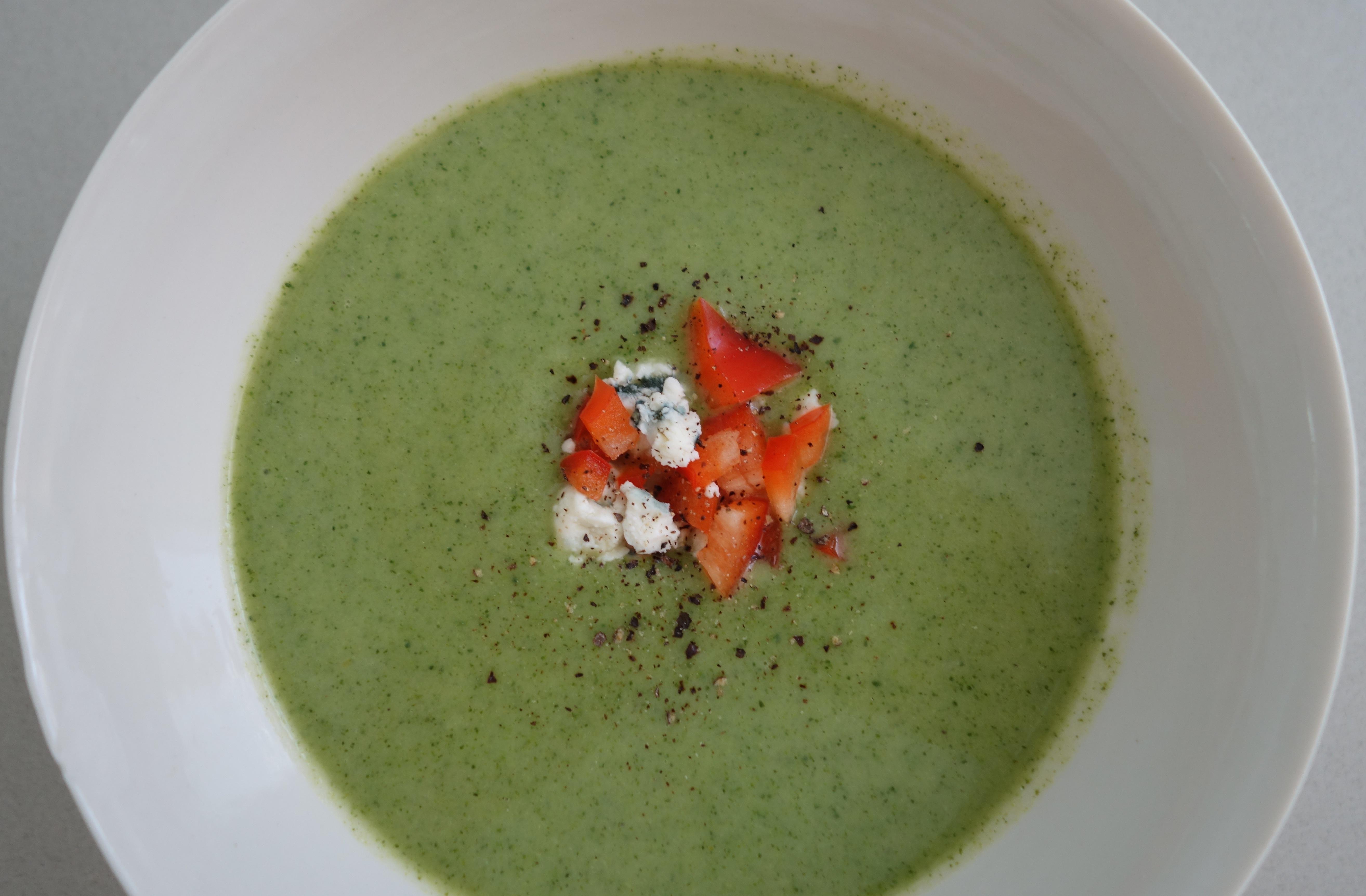 Chilled Broccoli Soup | Eaton Square Edibles