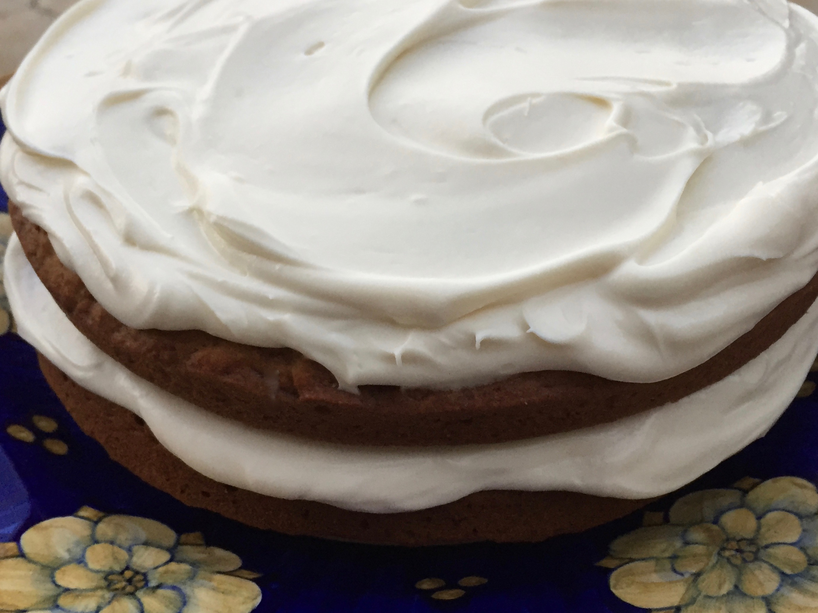 Spiced Pumpkin Cake with Maple Cream Cheese Frosting | Eaton Square ...